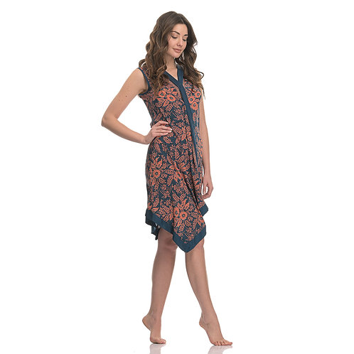 Natura Poncho Dress without Sleeves
