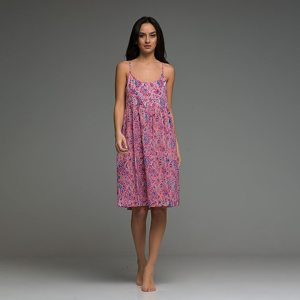 Carmina short Dress from boho love pink