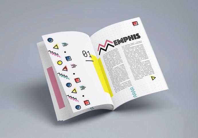 Вёрстка журнала