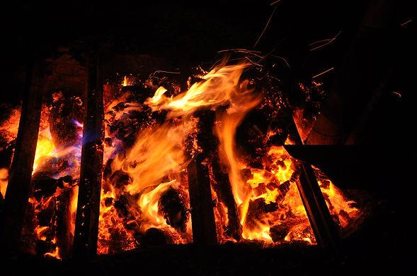 Feuer, Vasen, traditionell, brennen