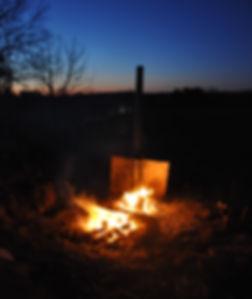 Sonnenuntergang, Vasen, brennen
