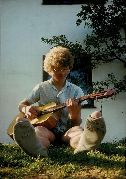 Christian Vormayr, Jung, Gitarre
