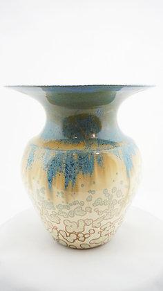 Glasierte Vase