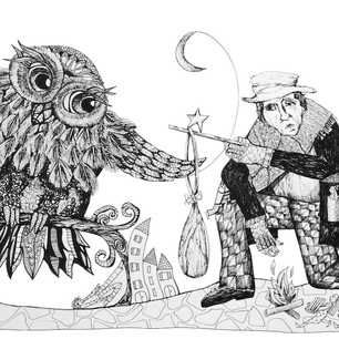 The Beggar and the Owl