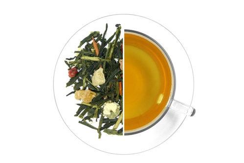 Wall & Keogh Superior Tea - Life of Brian - Green Tea with Sandlewood & Papaya