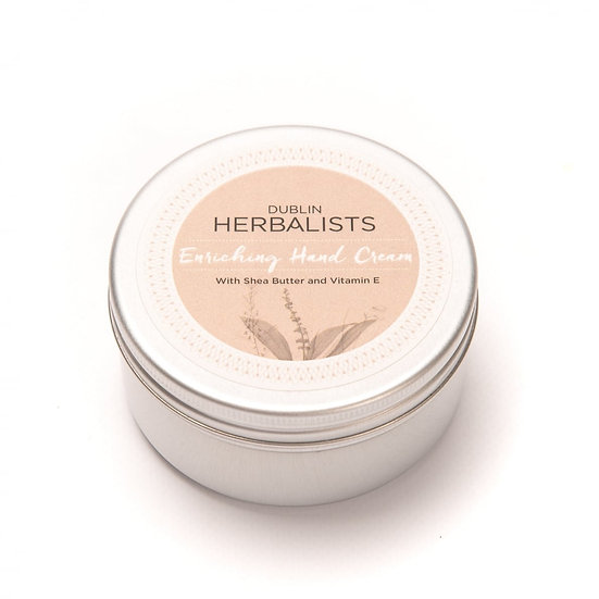Dublin Herbalist - 100ml Enriching Hand Cream with Lemongrass & Bergamot