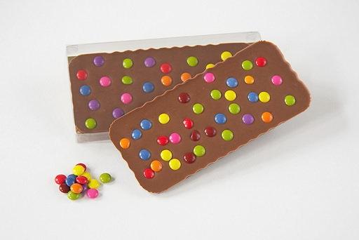 Chez Emily - Chocolate Slab - Smartie
