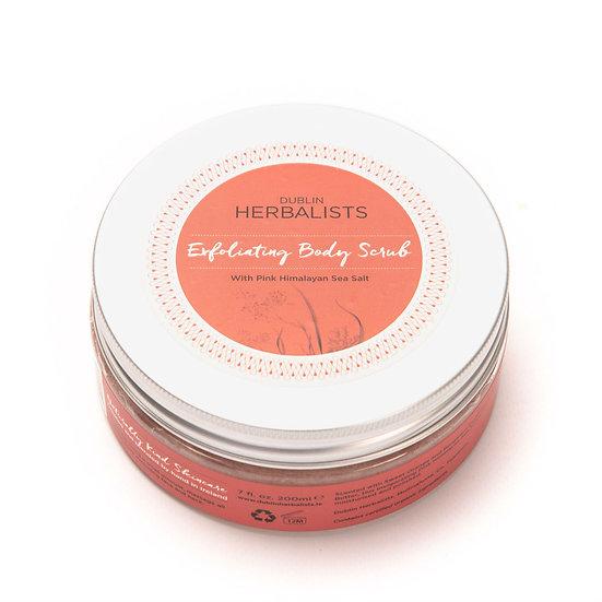 Dublin Herbalist - 200ml Exfoliating Body Scrub with Pink Himalayan Sea Salt