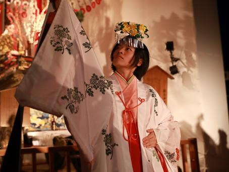 祭祀にご奉仕いただけるこども巫女(舞姫)を募集いたします。