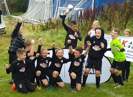 Elite FC Academy North West Tier 1 Tournament Champions