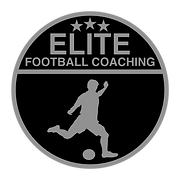 Elite Football Coaching Black background