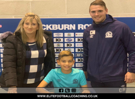 ELITE PLAYER SIGNS WITH BRFC CAT 1 FOOTBALL ACADEMY