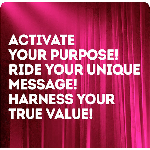 6 month Business Coaching - Purpose ; Brand ; Value
