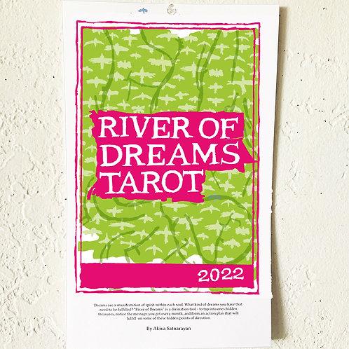 """River Of Dreams Tarot"" 2022 Calendar"