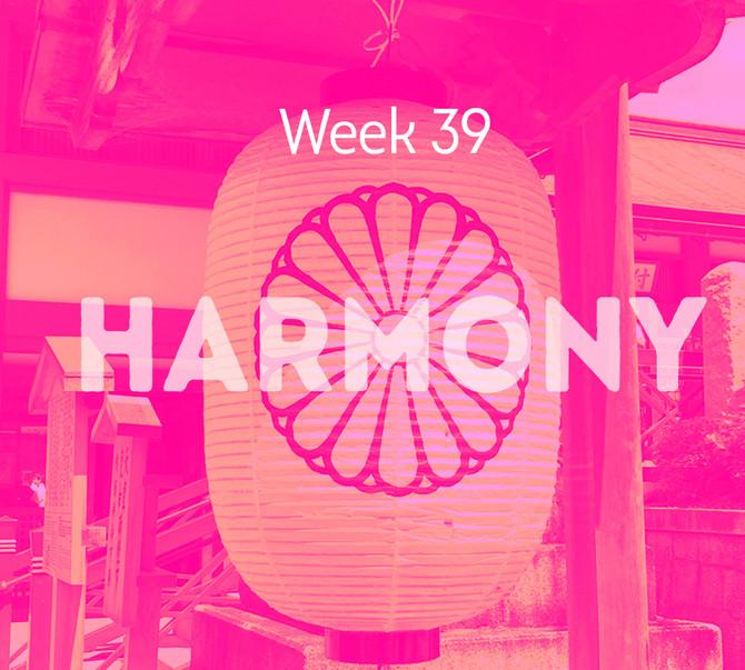 Week 39 - Creating Vitality Through Words