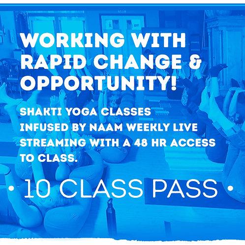 10 Class Pass - Shakti Naam