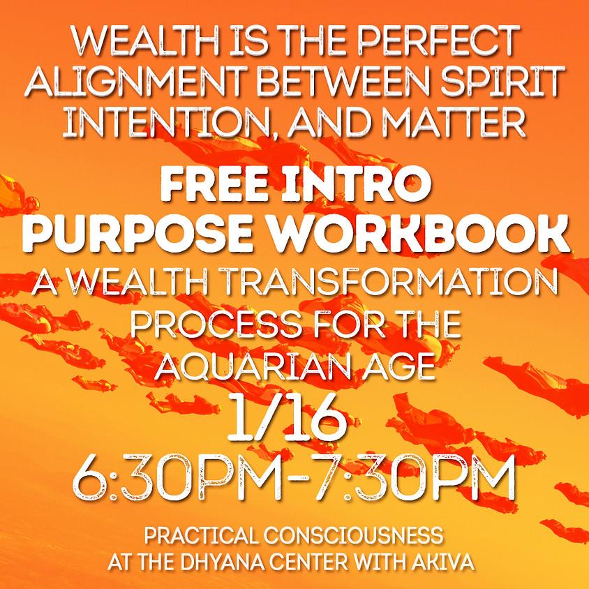 Free Intro To Purpose Workbook