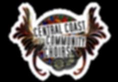 central coast community choir logo white