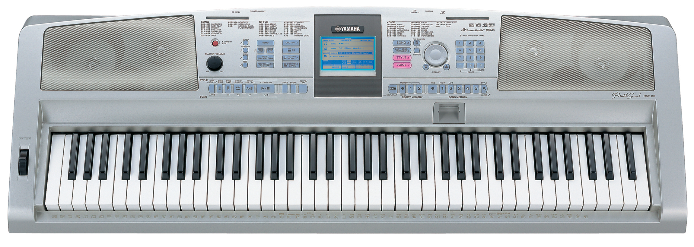 Synth: Yamaha DGX-305