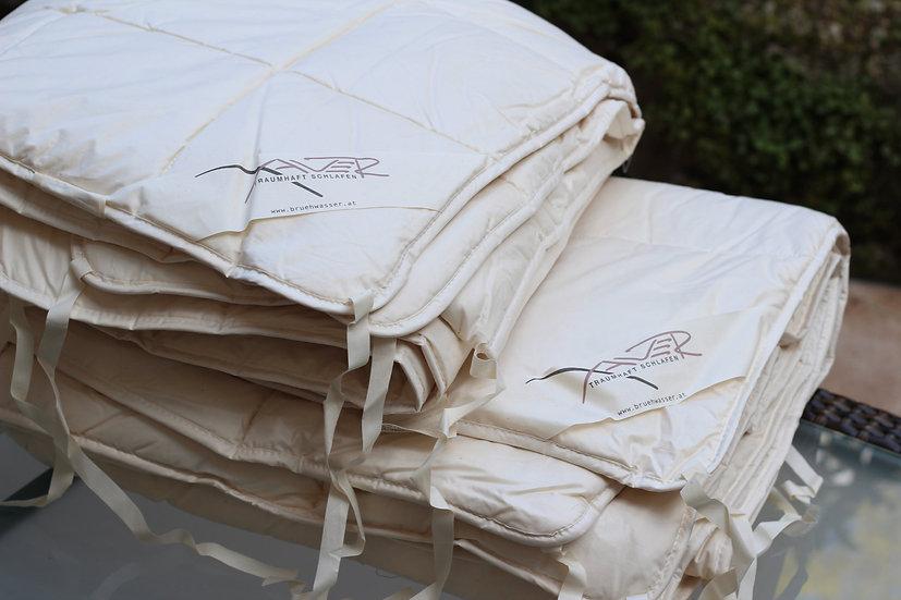 XAVER 4-Jahreszeiten-Bettdecke Kapok