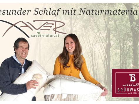 """Einladung Workshop """"Gesunder Schlaf mit Naturmaterialien"""""""