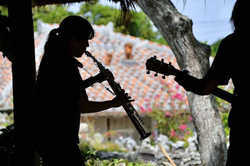 石垣島は音楽も盛んです。