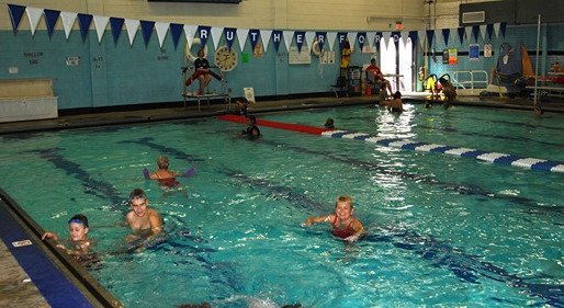 The Rutherford Swim Association awarded the Rutherford High School Pool!
