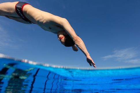 Paraolympic Swim Team