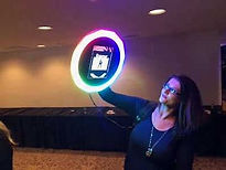 Roaming Selfie Photo Booth.  Perfect for all functions.