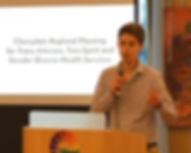 Kaeden Seburn speaking