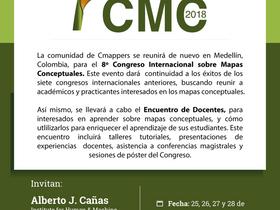 Octavo Congreso Internacional sobre Mapas Conceptuales 2018, EAFIT, Medellín