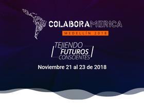 De noviembre 21 a 23 se desarrollará Colaboramérica en Medellín