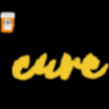 black yellow Shoe cure logo.png