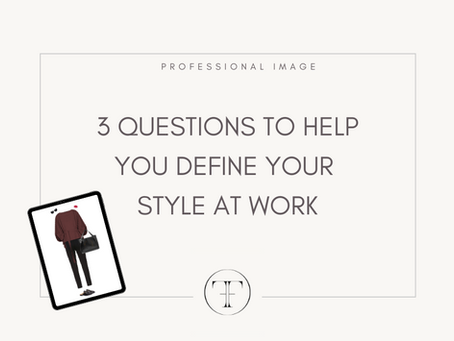 3 tips to help you define your style at work