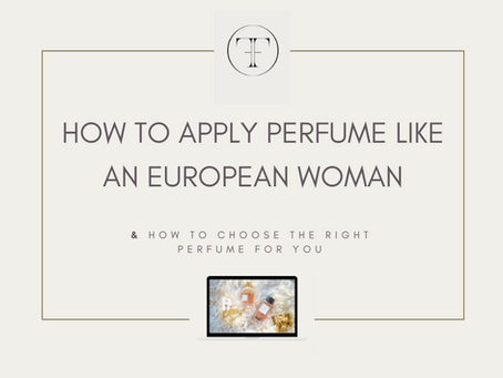 Which is the right perfume for you?