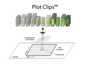 Why settle for an Orthomosaic?  Introducing Plot Clips™