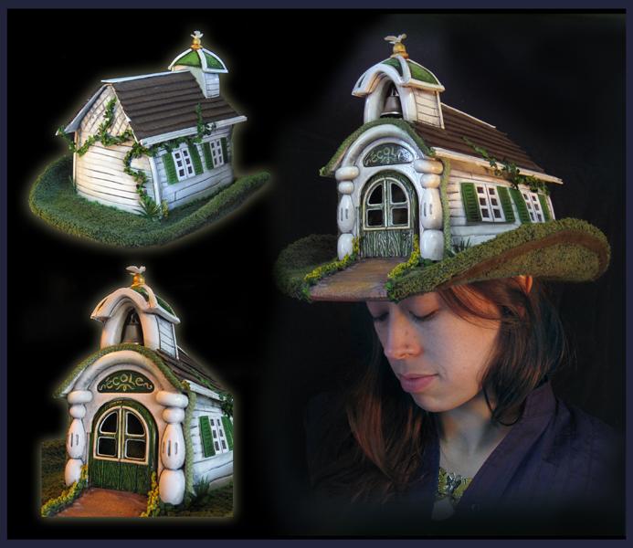 SCHOOL HOUSE HAT