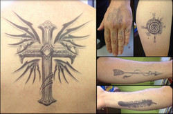 VARIOUS TATOO TRANSFERS FOR SEVERAL