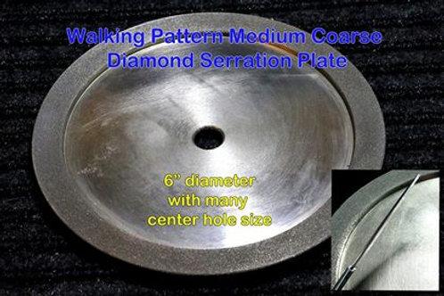 Diamond Serration Wheel