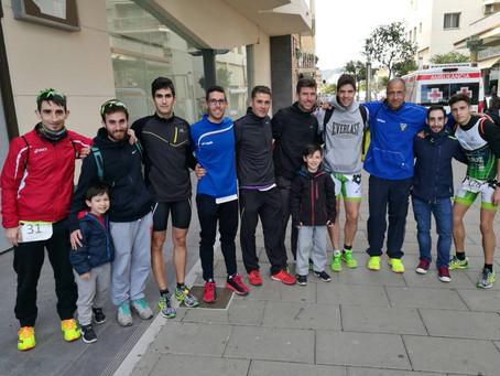 Duatlón super sprint por relevos de Pineda