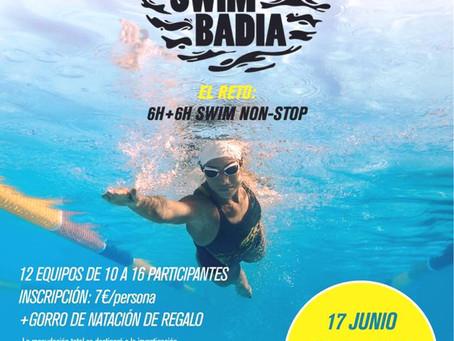 ¡No podeis faltar a las 12h Swimming!