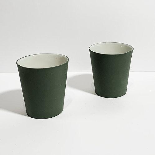 Koyu Yeşil Kahve Bardağı