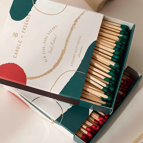 New Year Luxury Matchbox