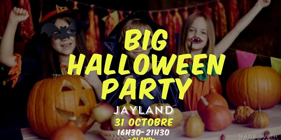 La plus grande Fête d'Halloween pour enfants à Jayland Gland