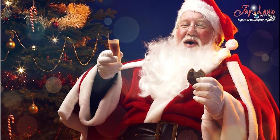 Arrivée du Père Noël à Jayland