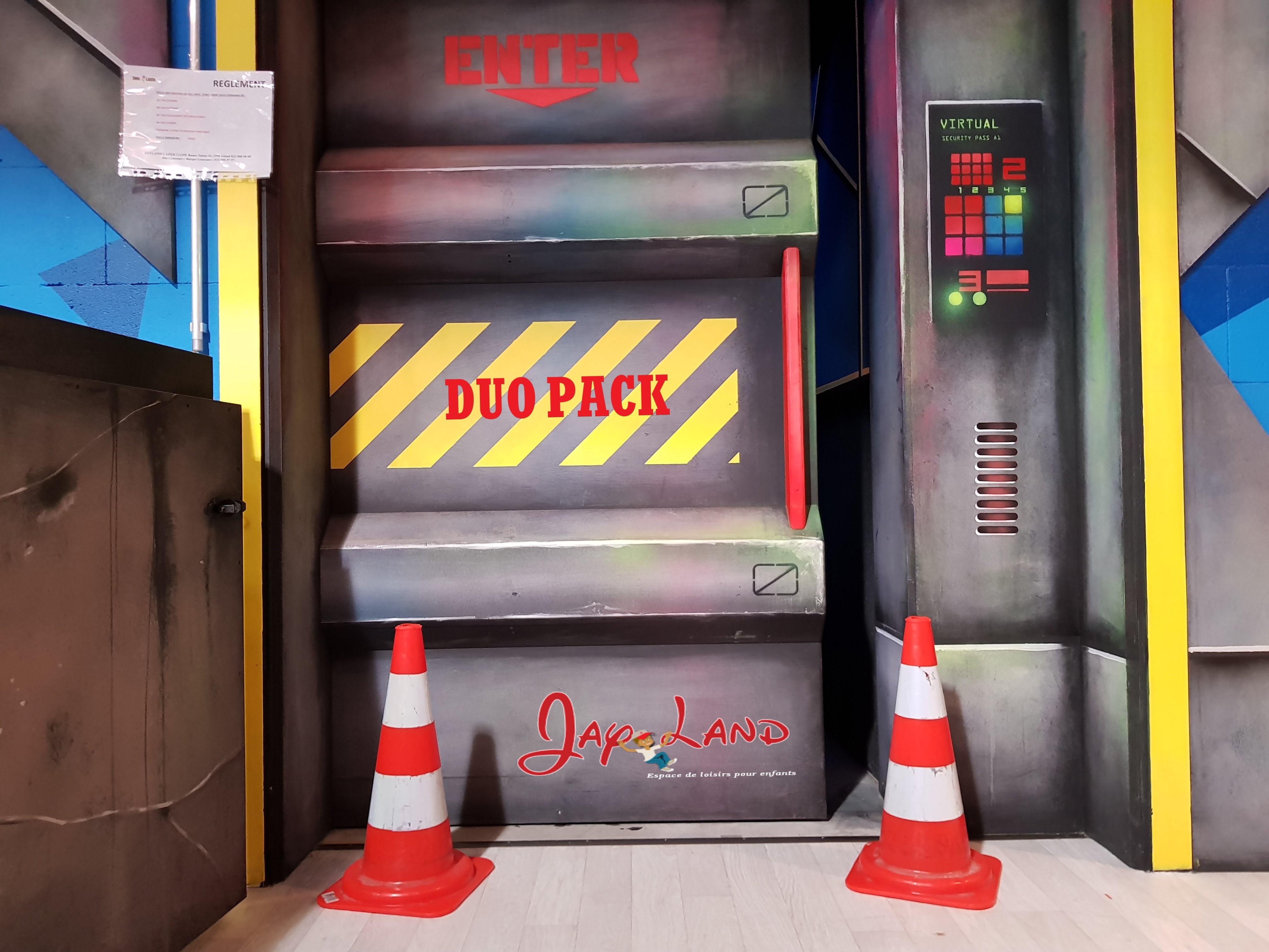 DUO PACK Laser Games - JayLand Gland