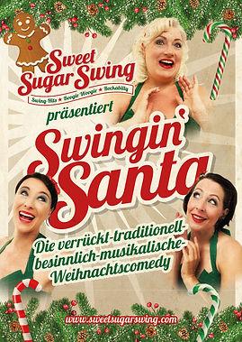 SSS_SwinginChristmasShow_Postkarte_Titel