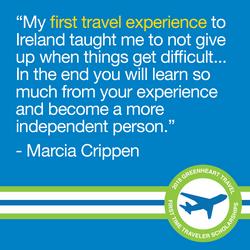 Traveler Scholarships Facebook Quote