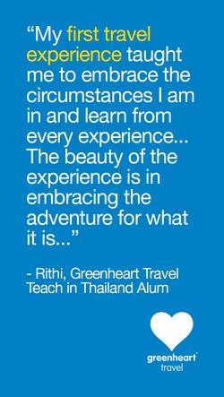 Traveler Scholarships Snapchat Quote
