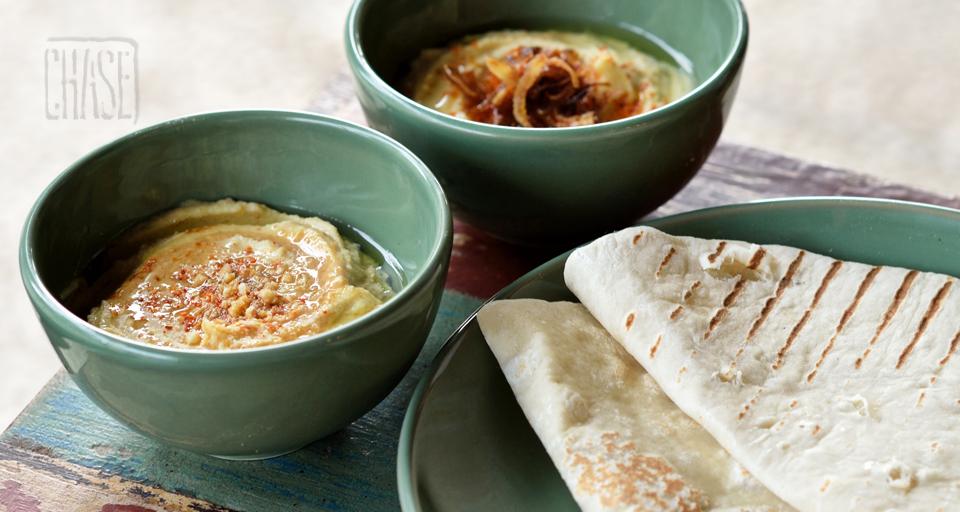 Hummus and Flatbread